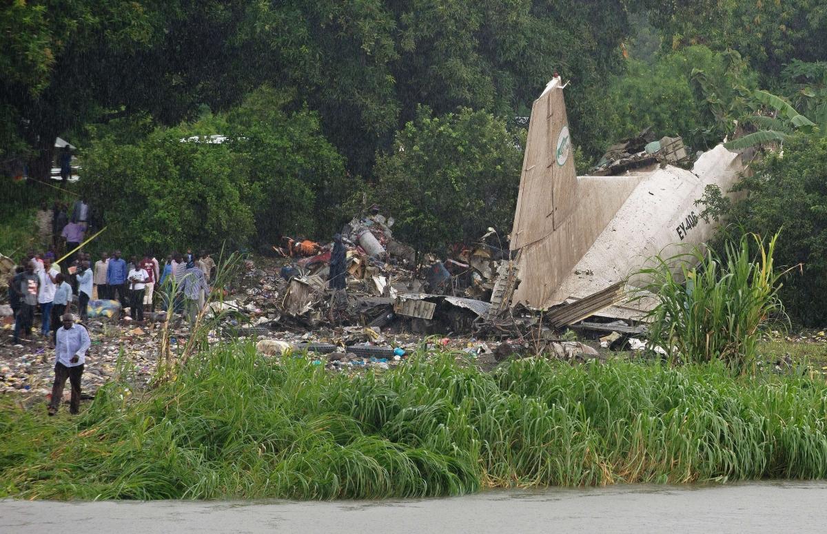 South Sudan plane crash