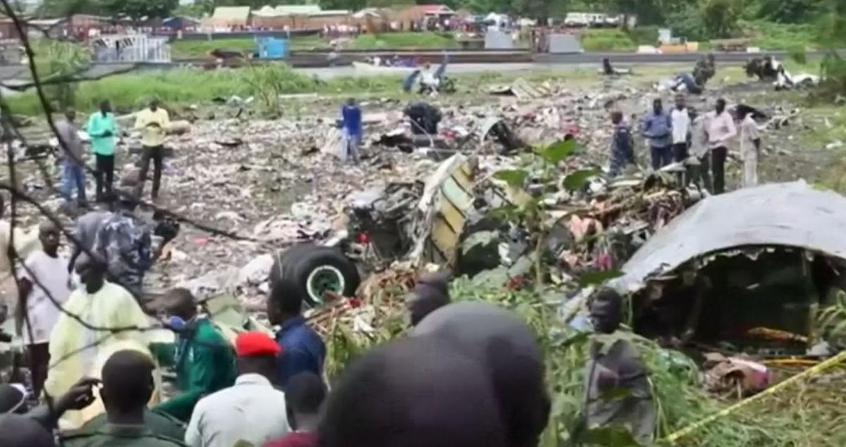 South Sudan: Plane crash kills at least 41