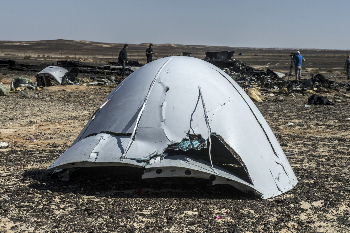 Russia Sinai plane crash