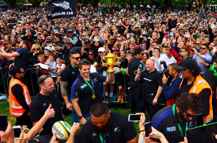 All Blacks return home