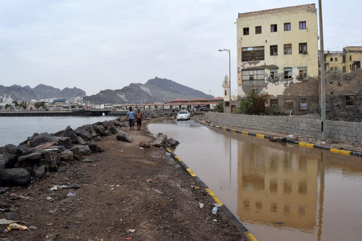 Cyclone Chapala affect in Yemen
