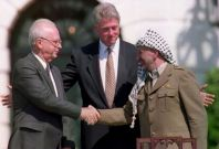 Rabin and Arafat