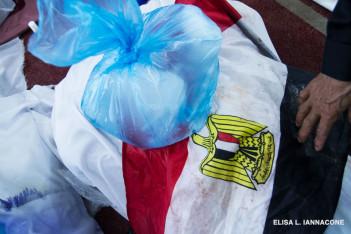 Rabaa corpse