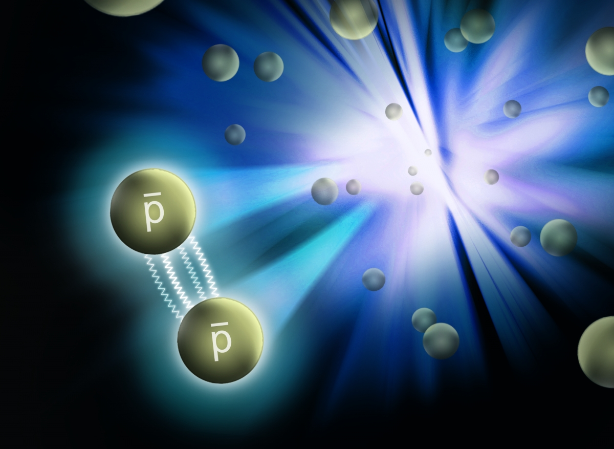 Where did the antimatter go? Force between antiprotons discovered in step towards solving mystery