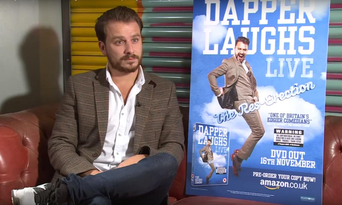 Dapper Laughs interviewed by Caroline Criado-Perez