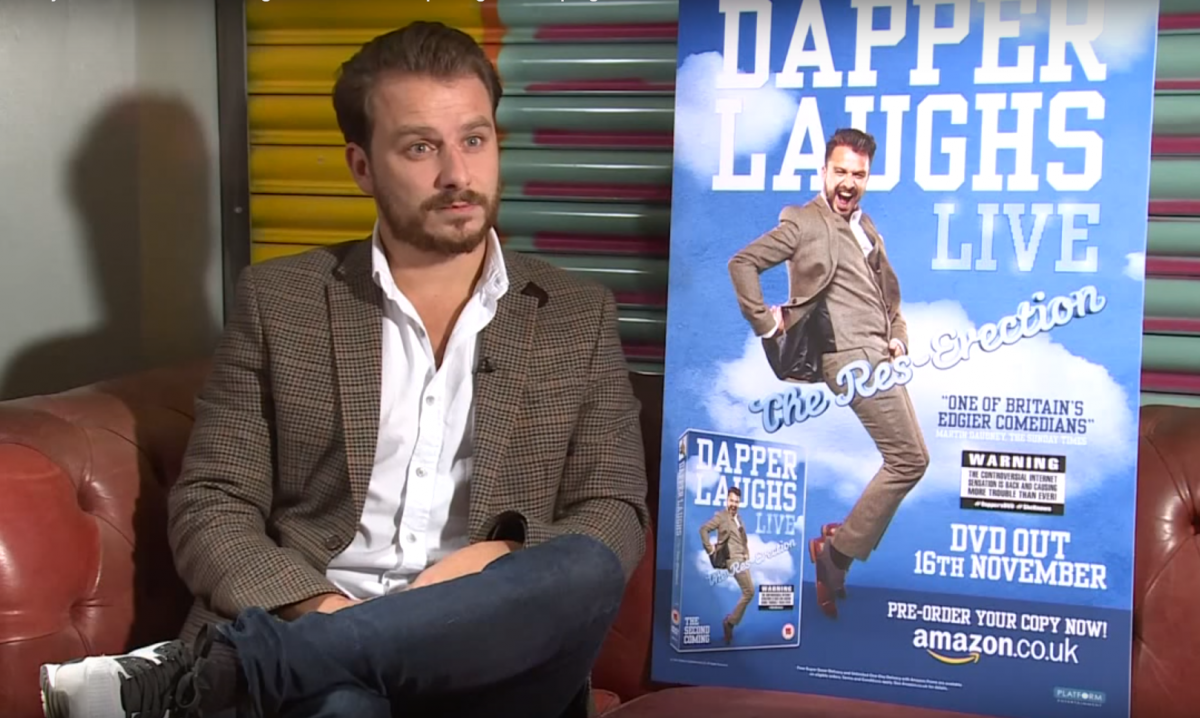 Dapper Laughs interviewed by Caroline Criado-Perez