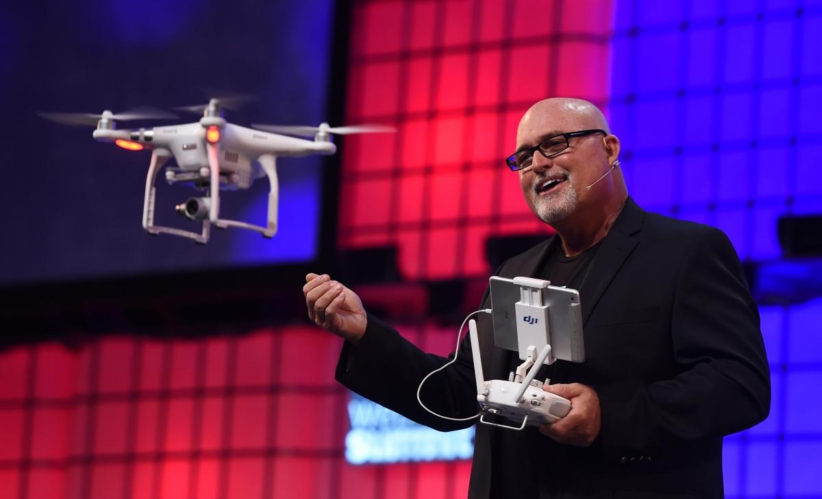 Randy Braun Web Summit Drone