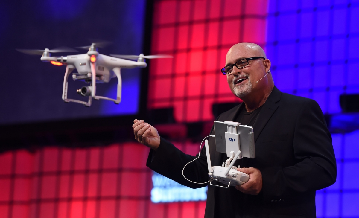 Randy Braun Web Summit Drone