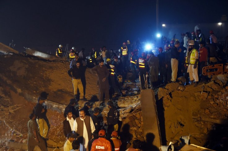 Pakistan factory collapse