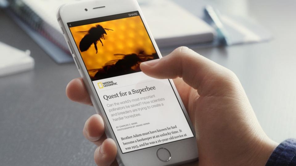 Facebook's Instant Articles