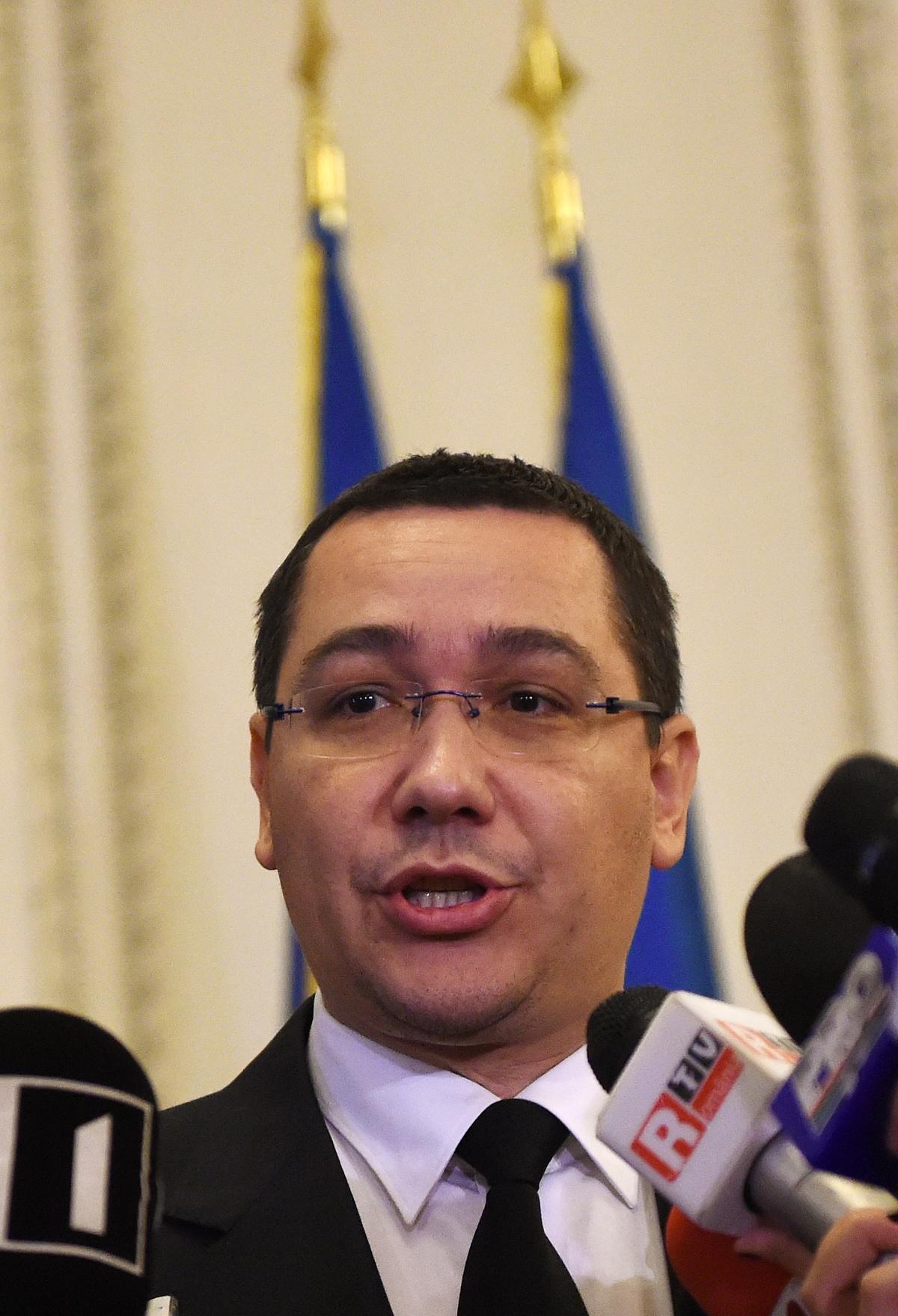 Prime Minister Victor Ponta