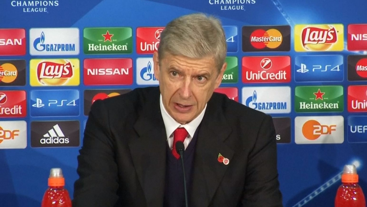 Arsenal: Wenger bemoans defensive frailty as Gunners thrashed in Champions League