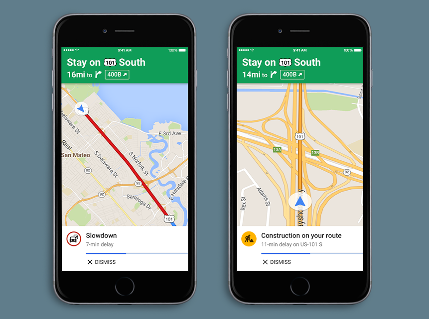 Google Maps voice alerts available on iOS