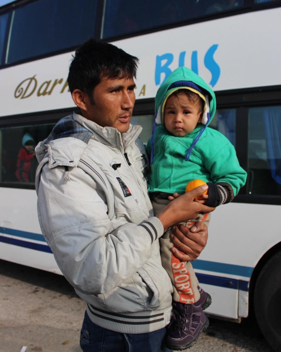 Serbia refugees