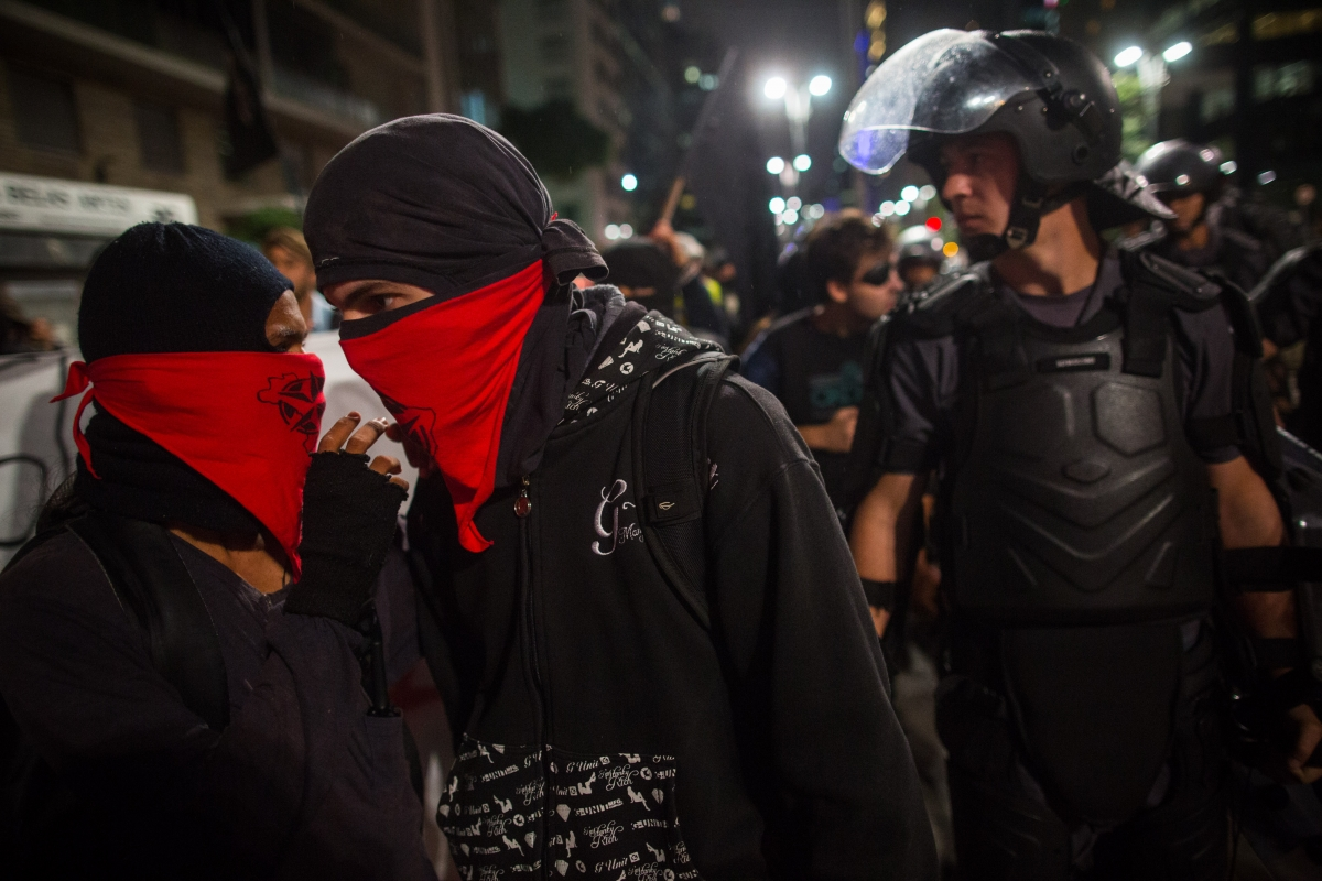 black bloc sao paulo