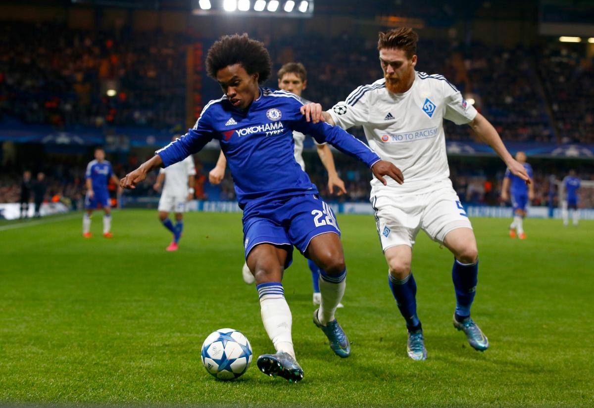 Willian: Chelsea can win UEFA Champions League