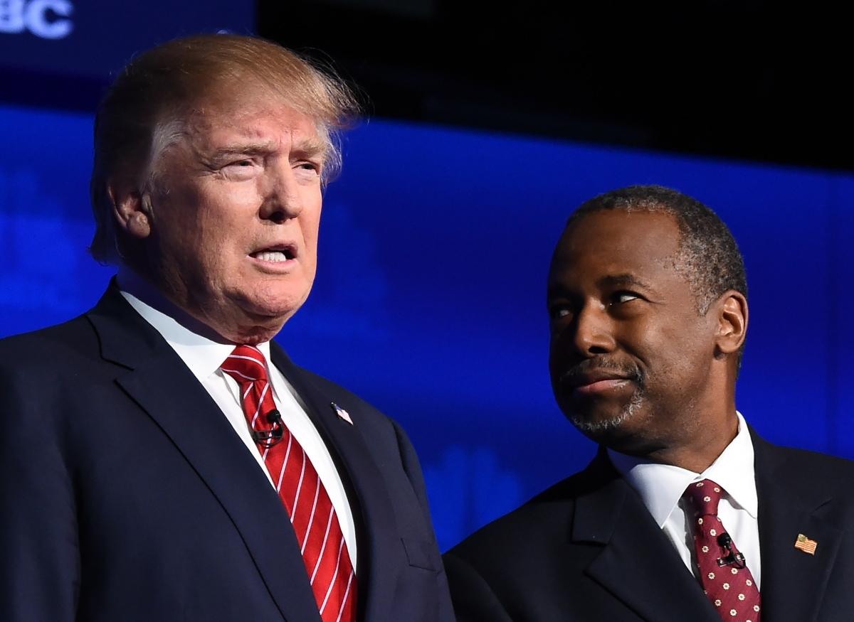 Donald Trump and Ben Carson