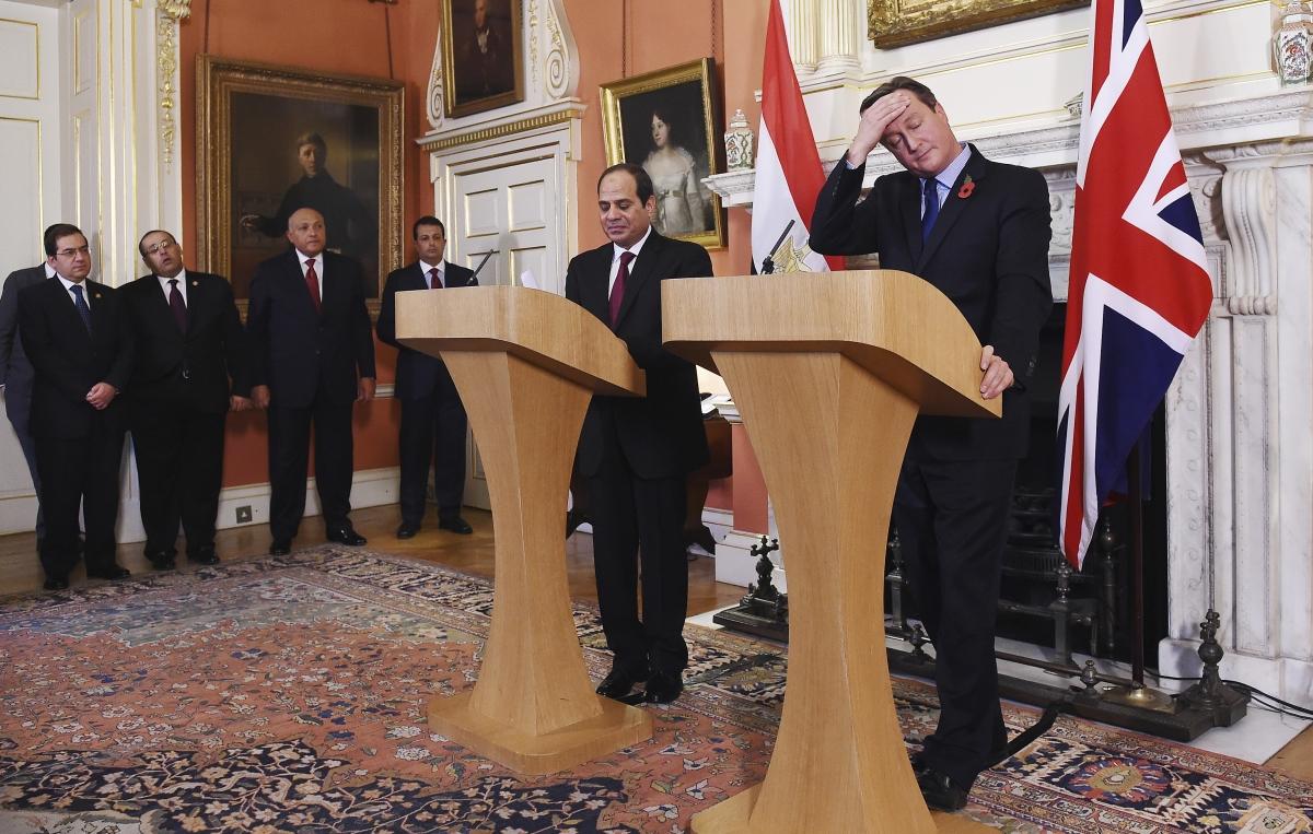 Abdel Fattah al-Sisi's visit to the UK