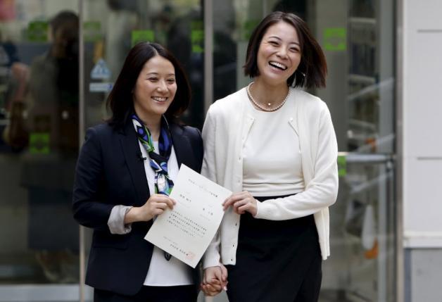 Same sex partnership certificate