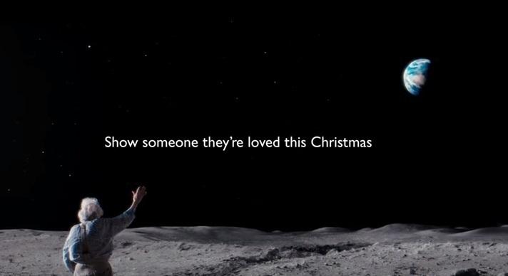 John Lewis Christmas advert 2015 screencap