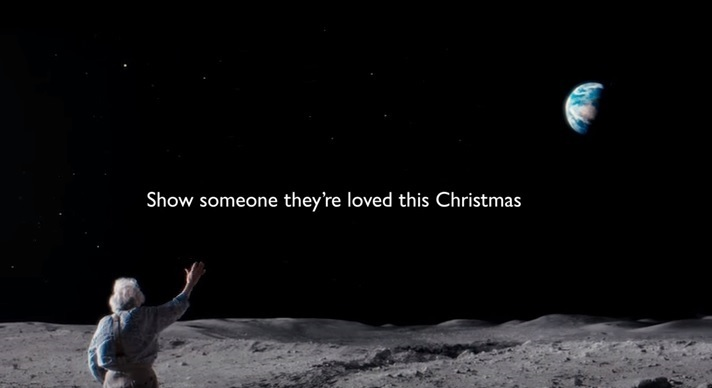 John Lewis Christmas advert 2015 screencap