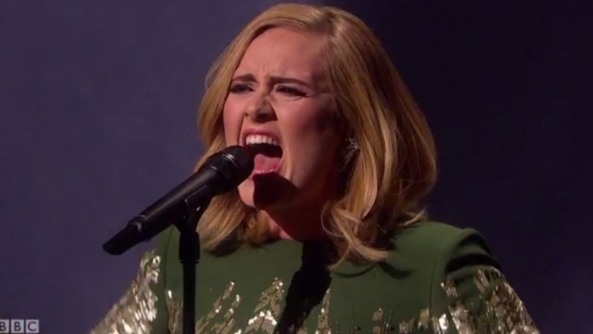 Adele Hello performance