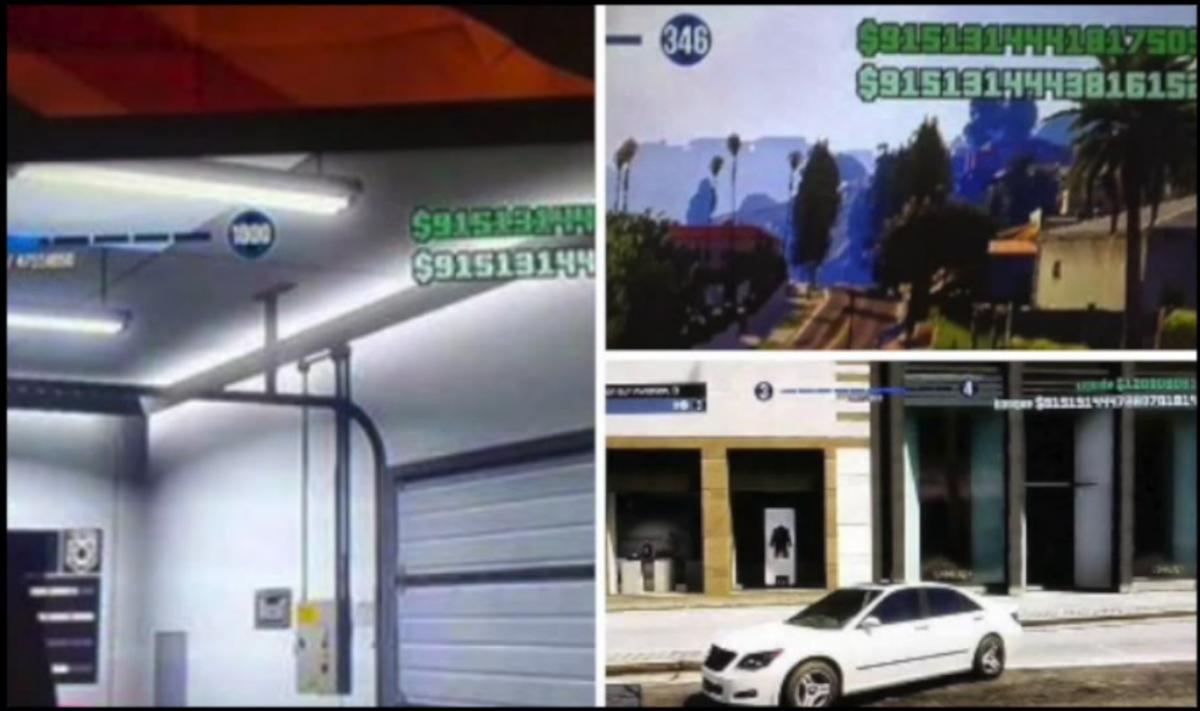 GTA 5 Online: Trillions of dollars worth of money glitches