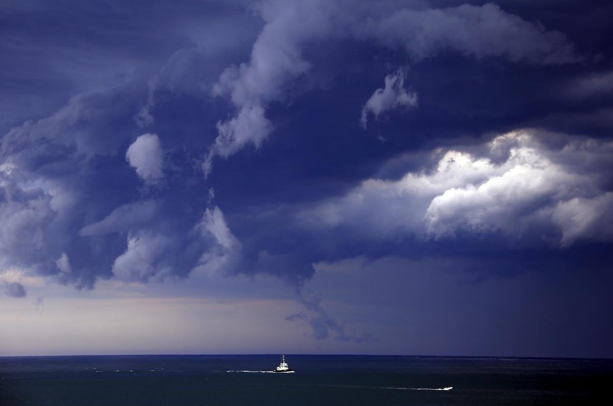 Sydney storm cloud