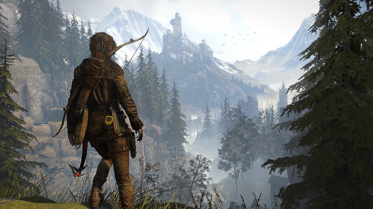 Rise of the Tomb Raider Lara Siberia
