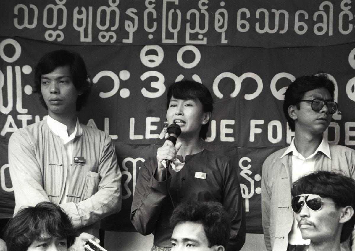 Aung San Suu Kyi,