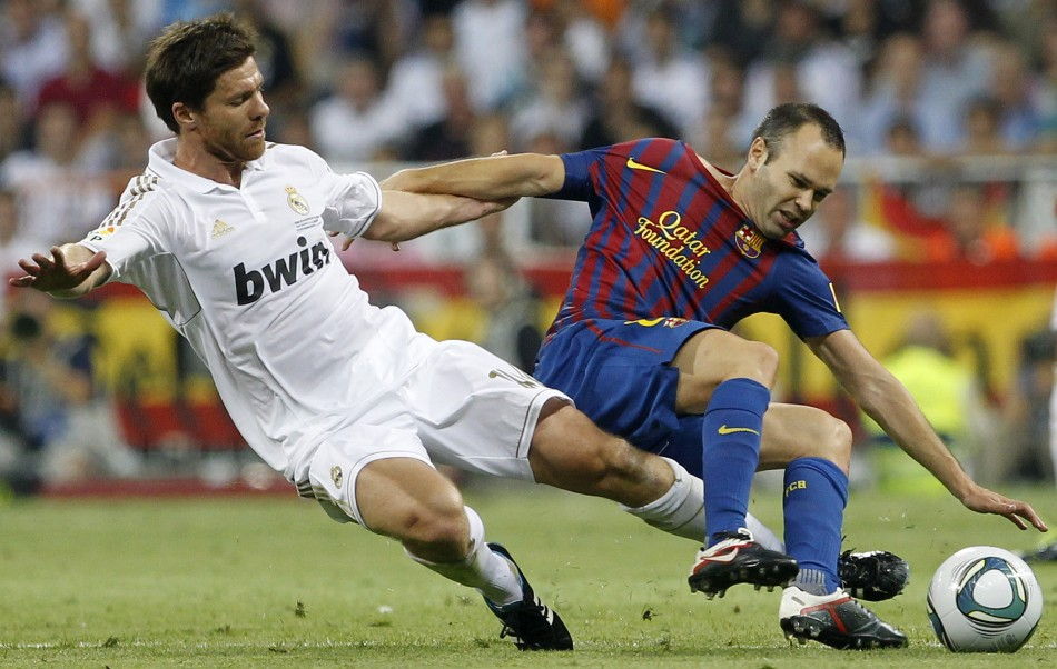 Alonso and Iniesta