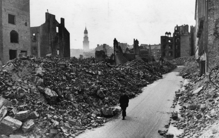 Hamburg WWII 1945
