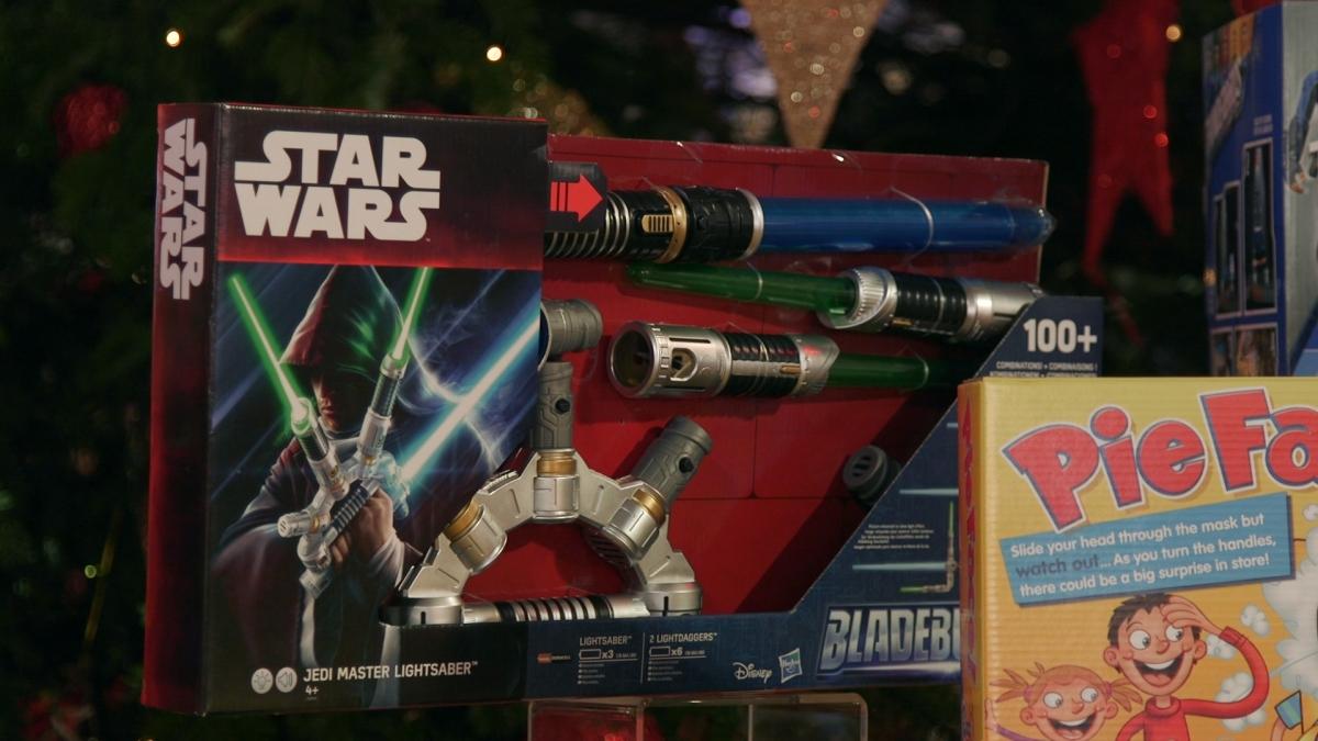 Star Wars Bladebuilder Jedi Master Lightsaber