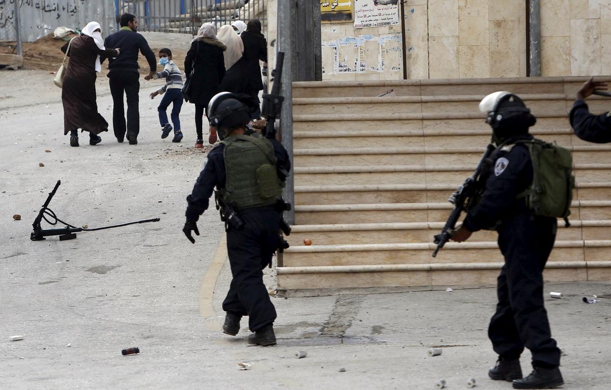 Hebron shootings West Bank