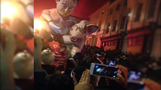 Cameron effigy
