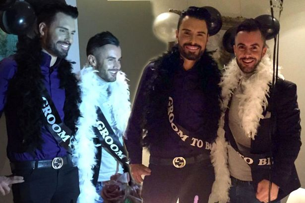 Rylan Clark and Dan Neal get hitched