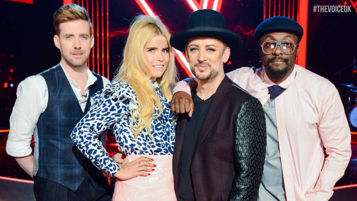 The Voice series 5 judges
