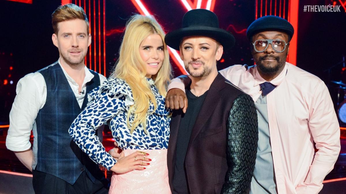 The Voice series 5 judges