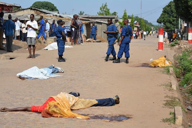 Bujumbura violence