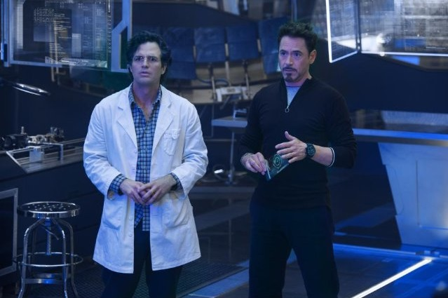 Mark Ruffalo and Robert Downey Jr