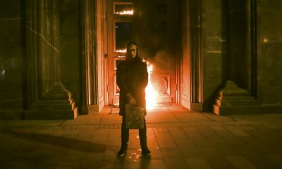 Pyotr Pavlensky set fire to the doorofthe
