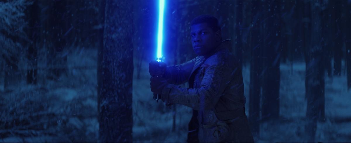 John Boyega in Star Wars 7