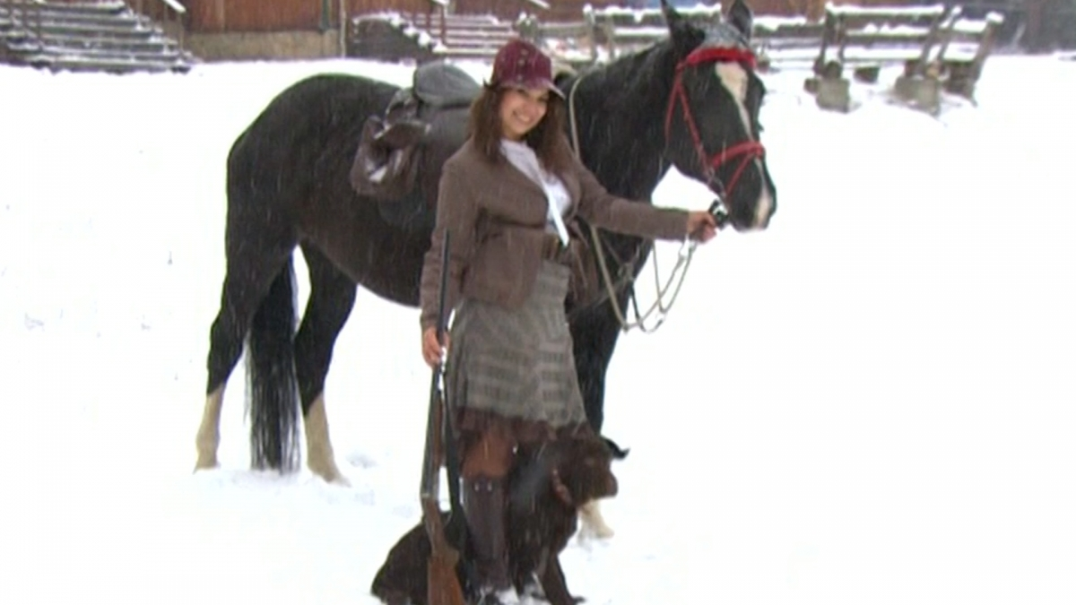 Women's hunting grows in popularity in Ural Mountains