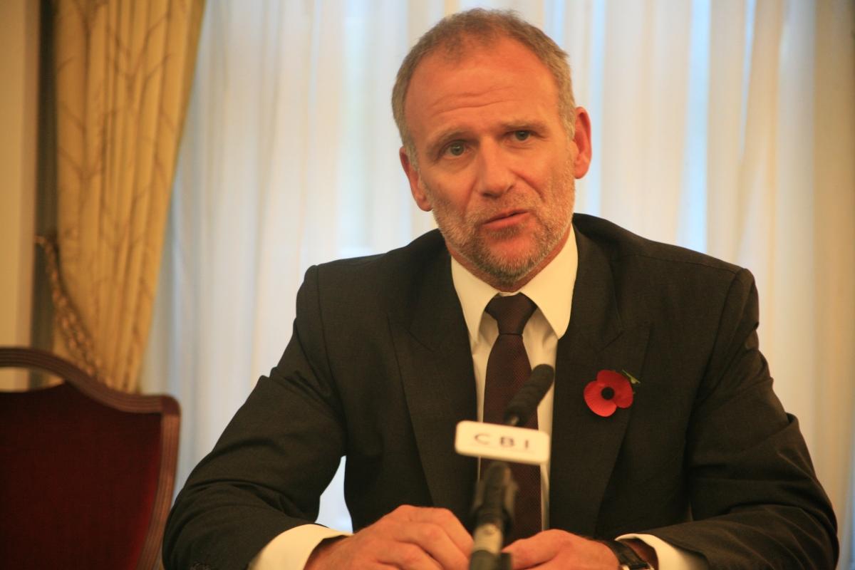 Tesco Boss Dave Lewis