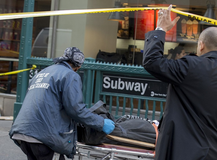 Manhattan Shooting