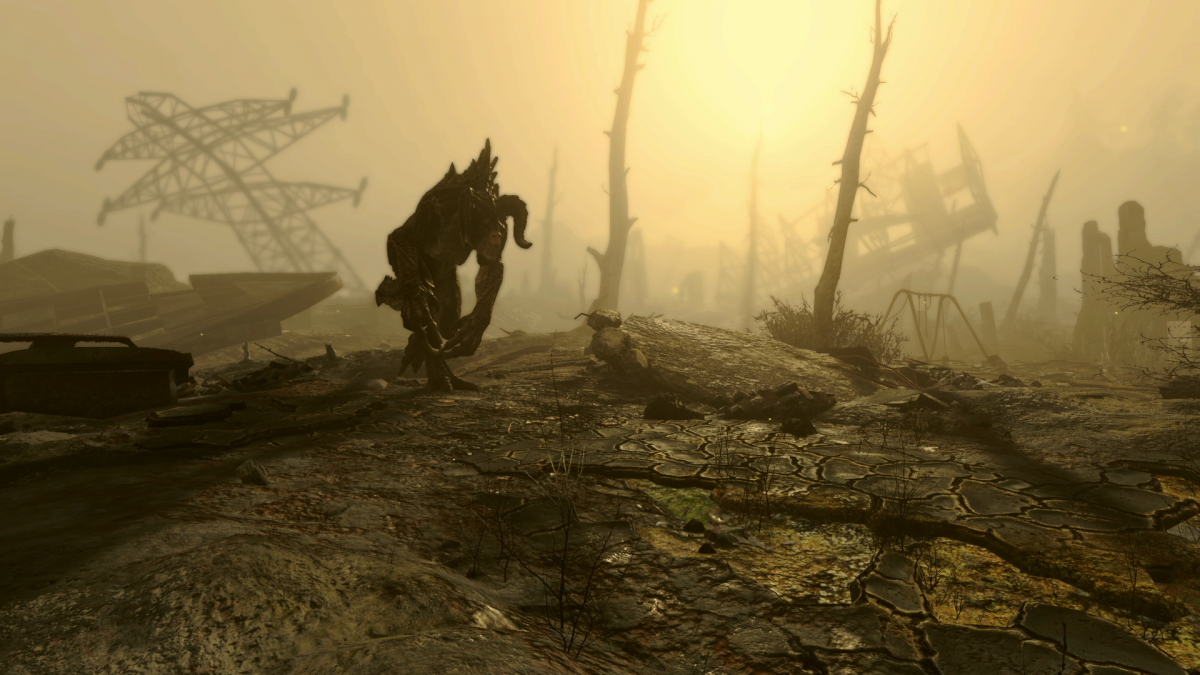 Fallout 4 Glowing Sea