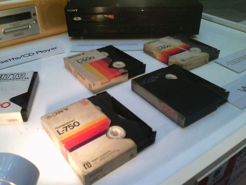 Sony Betamax tapes