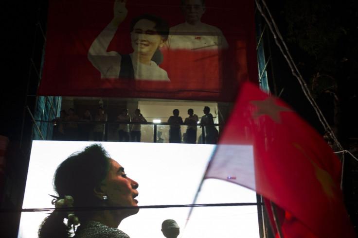 Myanmar opposition leader Aung San Suu Kyi