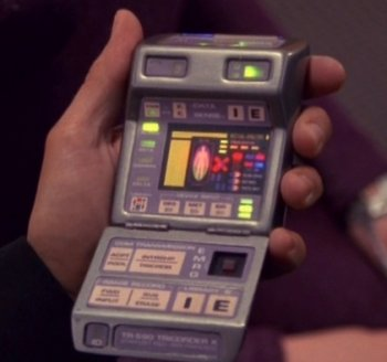 A medical tricorder from Star Trek
