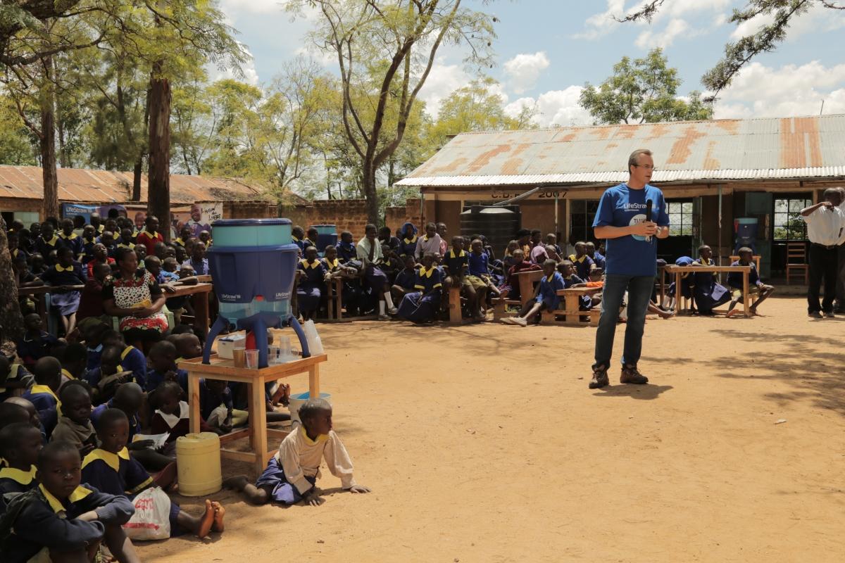 Vestergaard water campaigns in Kenya